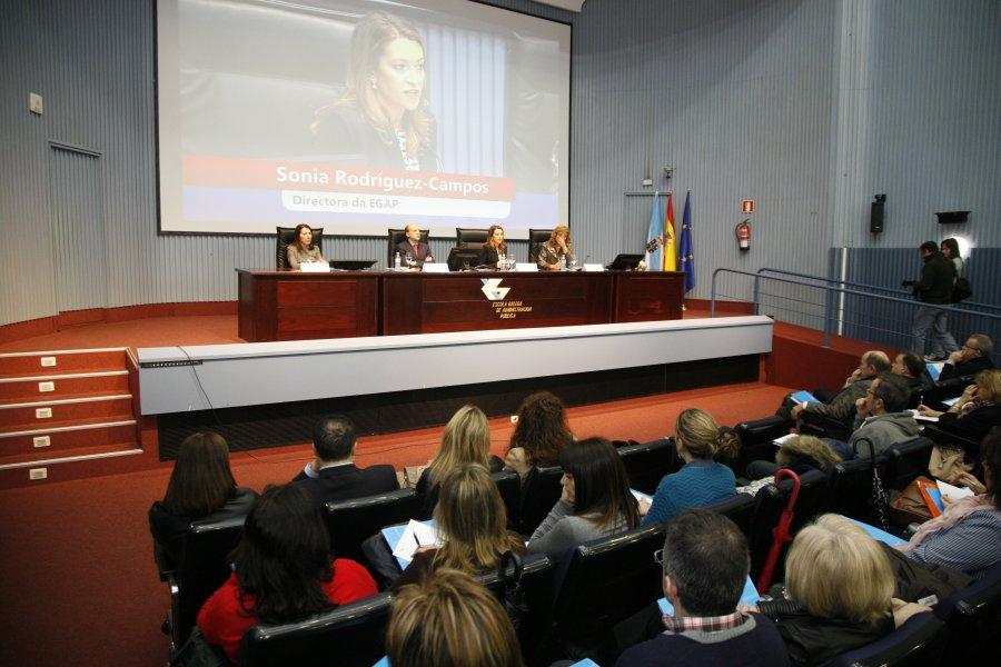 Inauguración do curso monográfico sobre o Estatuto Básico do Empregado Público